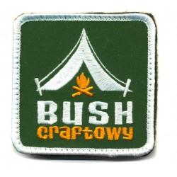 Naszywka Bushcraftowy z rzepem