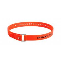 """Pasek mocujący Voile z klamrą alu - Voile-USA Pomarańczowy 32"""" XL Series"""