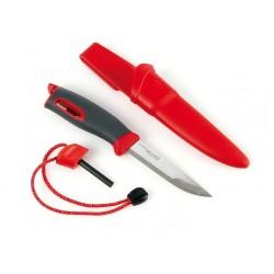 Nóż Light My Fire Fire Knife z krzesiwem - Czerwony