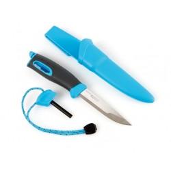 Nóż Light My Fire Fire Knife z krzesiwem - Niebieski
