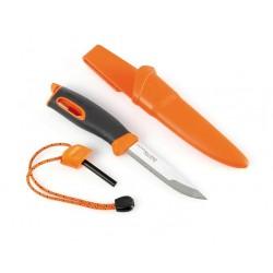 Nóż Light My Fire Fire Knife z krzesiwem - Pomarańczowy