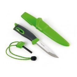 Nóż Light My Fire Fire Knife z krzesiwem - Zielony