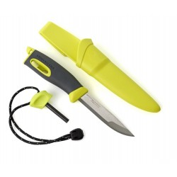Nóż Light My Fire Fire Knife z krzesiwem - Żółty