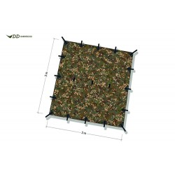 Płachta biwakowa DD Hammocks Tarp 3x3 - Multicam