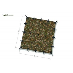 Płachta biwakowa DD Hammocks Tarp 4x4 - Multicam