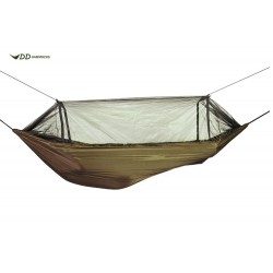 DD Hammocks Hamak Travel Hammock / Bivi - Coyote Brown
