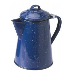 GSI Imbryk do parzenia kawy - Niebieski emalia