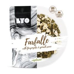 Lyofood Farfalle w sosie szpinakowo serowym