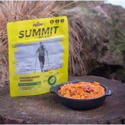 Summit to eat -Fajita z kurczaka z ryżem (bezglutenowe) - duża porcja