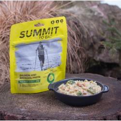 Summit to eat - Łosoś Z Makaronem I Brokułami - duża porcja