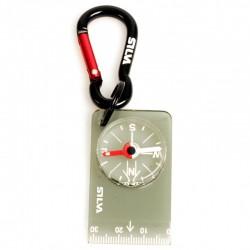 Silva - Brelok z kompasem i miarką Carabiner 28