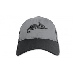 Helikon - Czapka Logo Cap - Czarny/Shadow grey